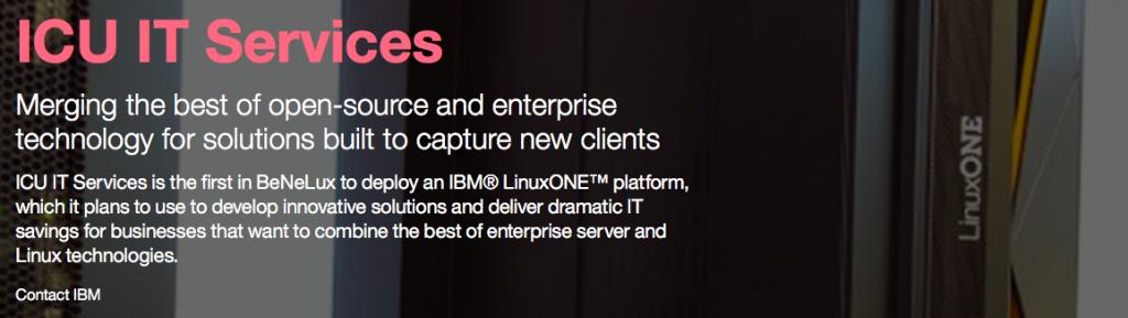IBM Case Study ICU IT Services
