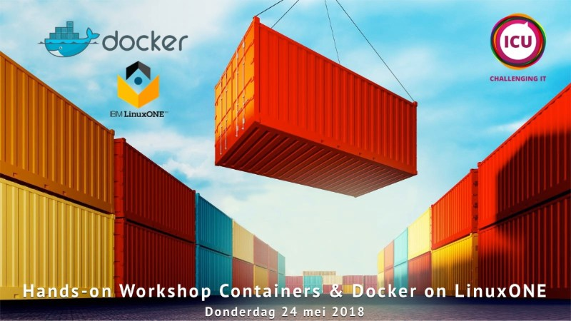 Workshop Containers Docker LinuxONE