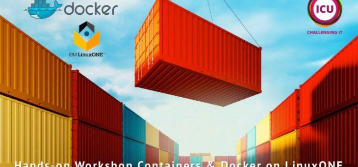 Hands-on workshop: Containers & Docker op LinuxONE