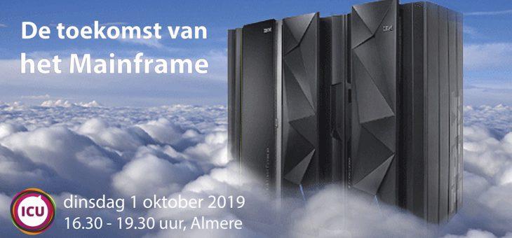 Kennissessie Toekomst van het Mainframe